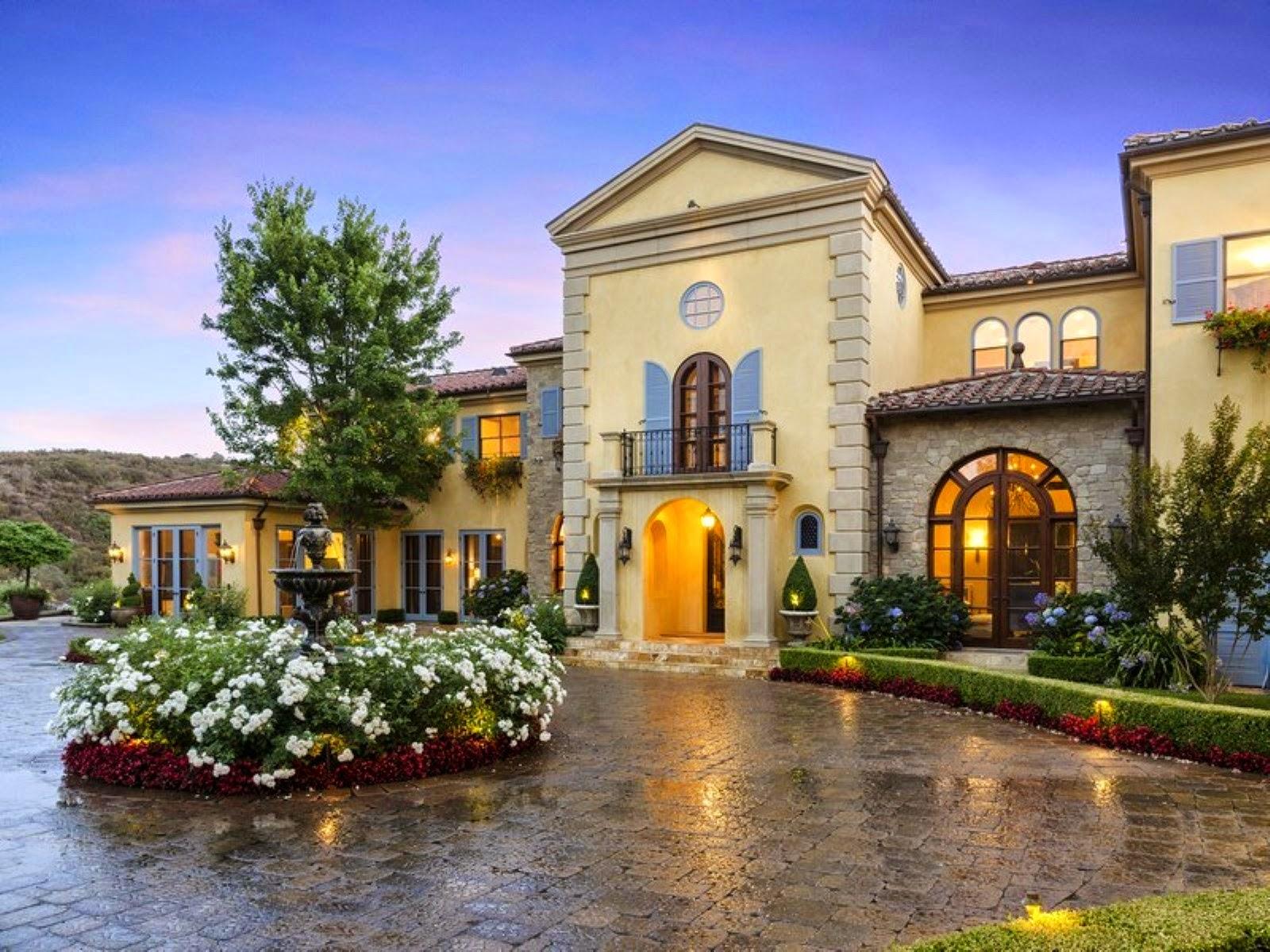 A Majestic Estate On Approximately 16 Lushly Landscaped