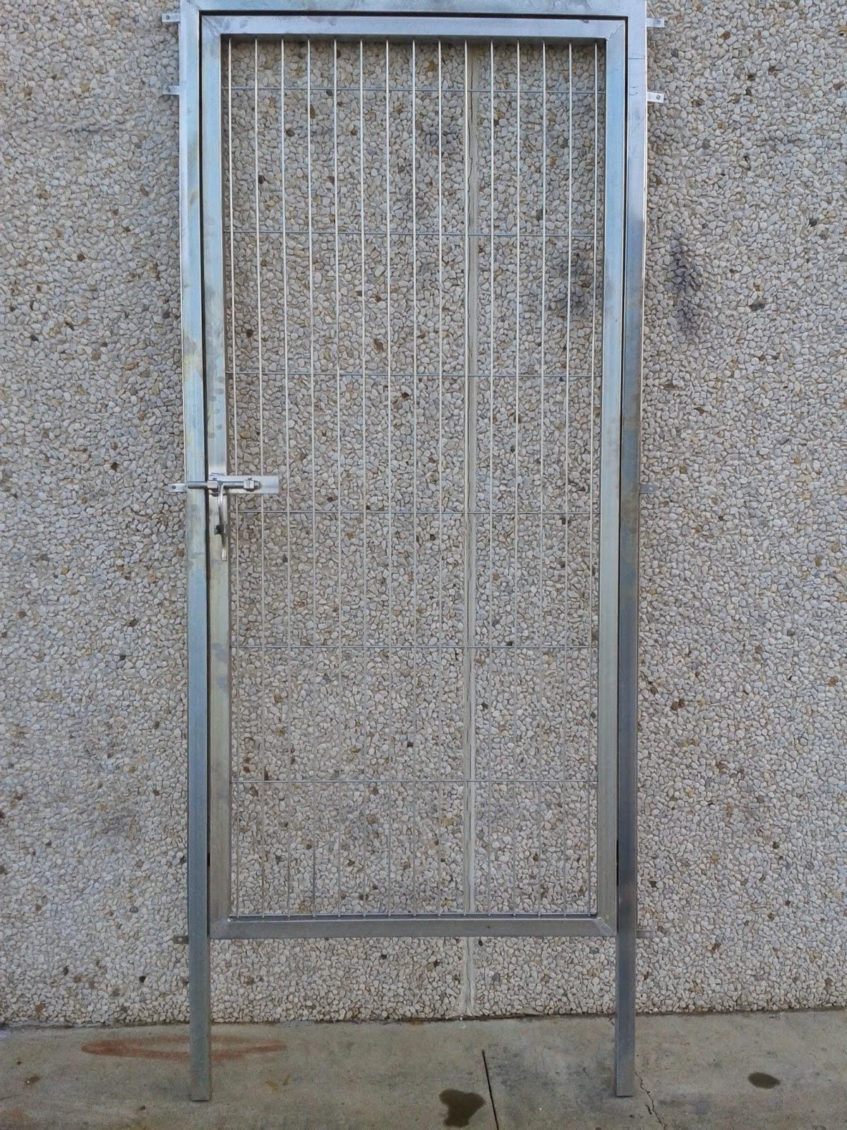 Puerta metalica exterior segunda mano materiales de for Puertas de madera exterior de segunda mano