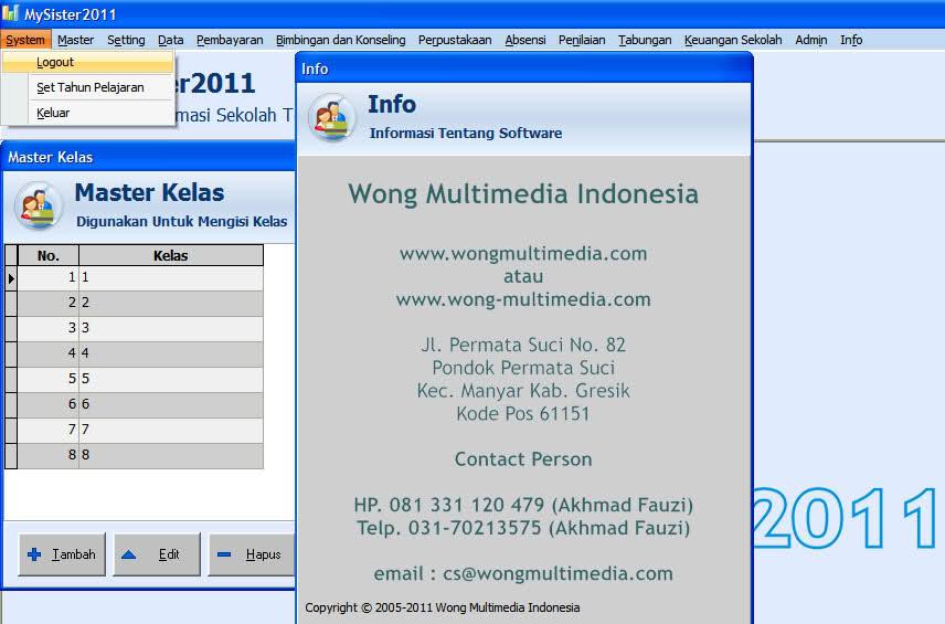 MKS Network: MySister 2011 Full with Crack - Aplikasi