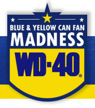 Blue & Yellow Can Fan Madness