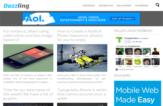 3 Excellent and Top AdSense Ready Blogger Templates