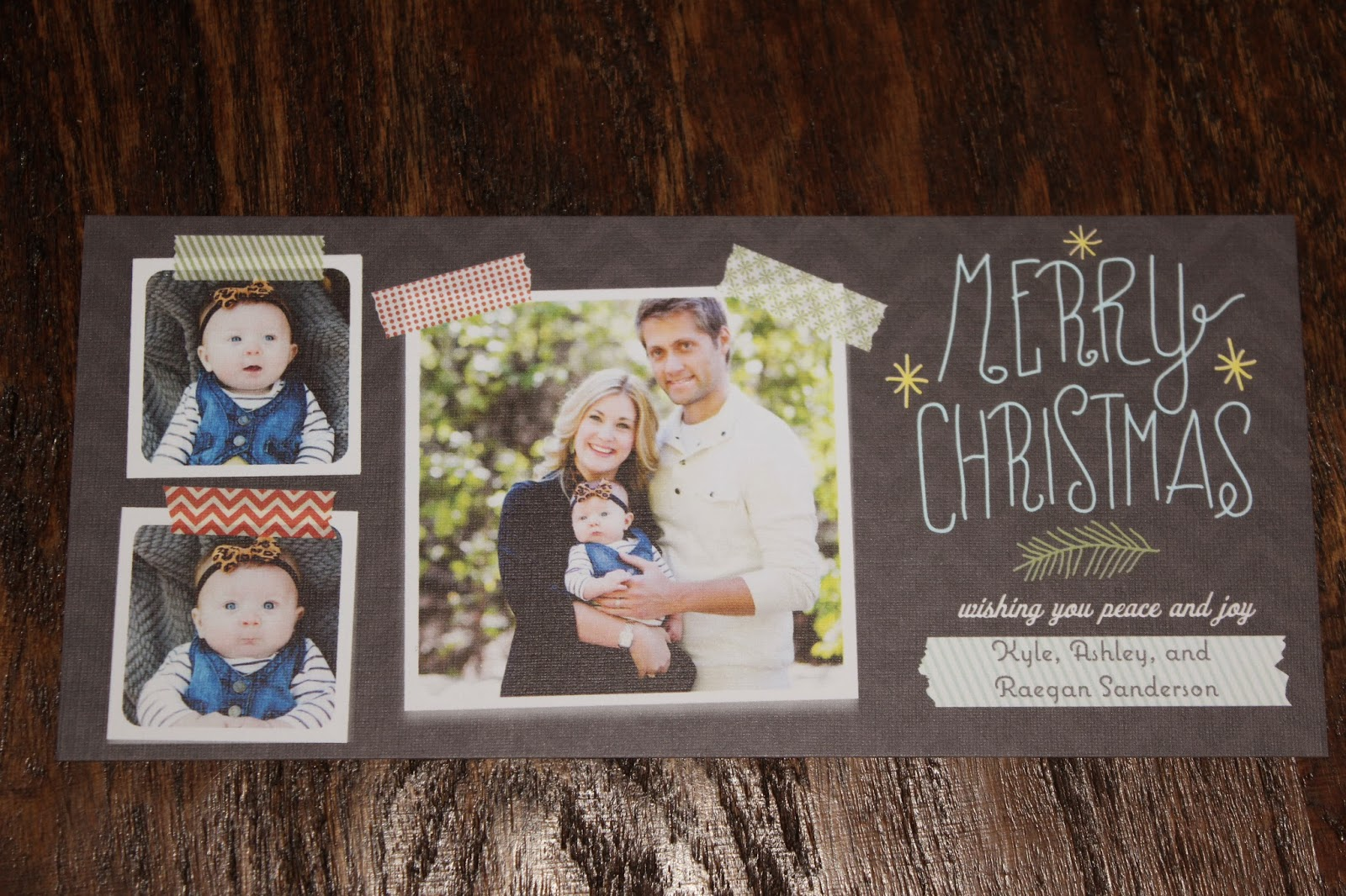 Christmas Card Link Up - The Mrs. & Co.