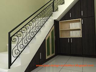 kontraktor interior surabaya sidoarjo: desain lemari bawah