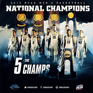 Duke Blue Devils 2015 National Champions