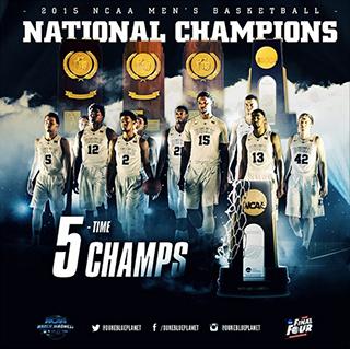 Duke Blue Devils 2015 National Champions