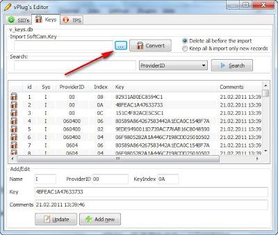 ... update of viaccess mdl cryptoworks mdl v keys working by v keys rai 13