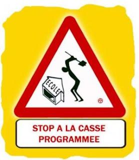 Éducation nationale : Rassemblement devant l'Inspection Académique de Lille, mercredi 31 août à 11 H dans Education nationale casse_du_service_public-b2d73