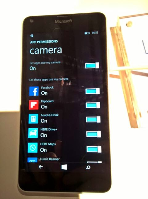 Lumia 640 app permission_pic2
