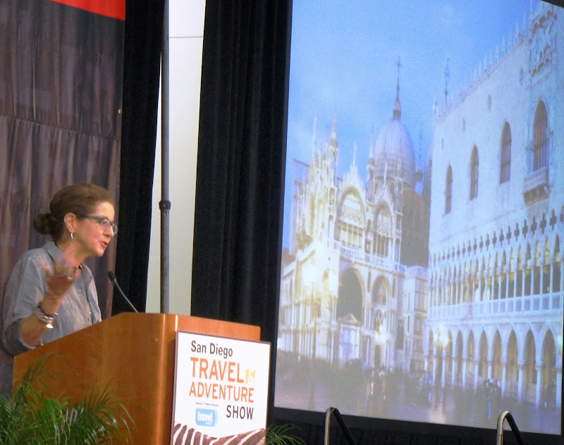Patricia Schulta 1,000 Places to See Before You Die San Diego Travel & Adventure Show