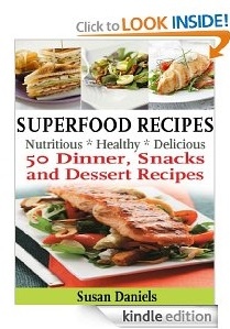 Free eBook Feature: Superfood Recipes by Susan Daniels