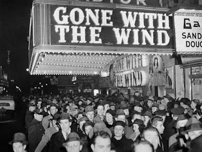 Estreno lo que el viento se llevo, 1939