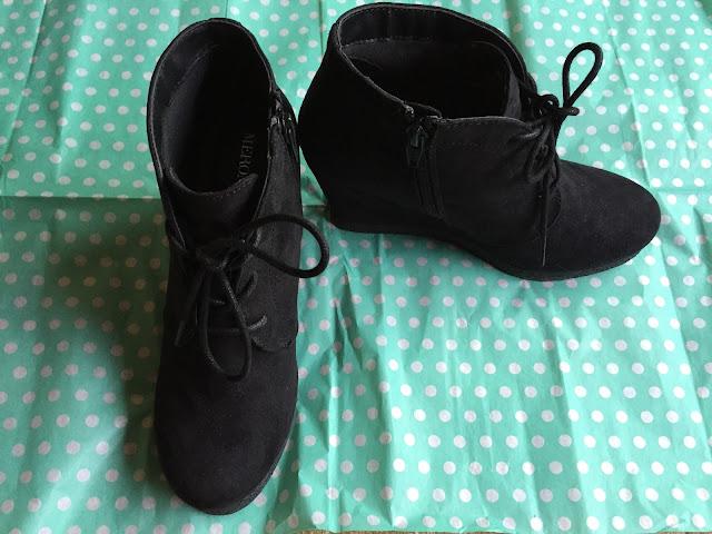 Merona Women's Terri Booties - Black Size 6