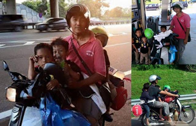 Bapa Tiga Anak Dapat Kereta Dari Rakyat Malaysia Perihatin