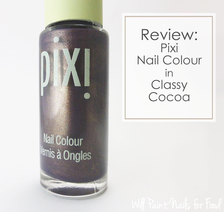 Pixi Nail Colour in Classy Cocoa