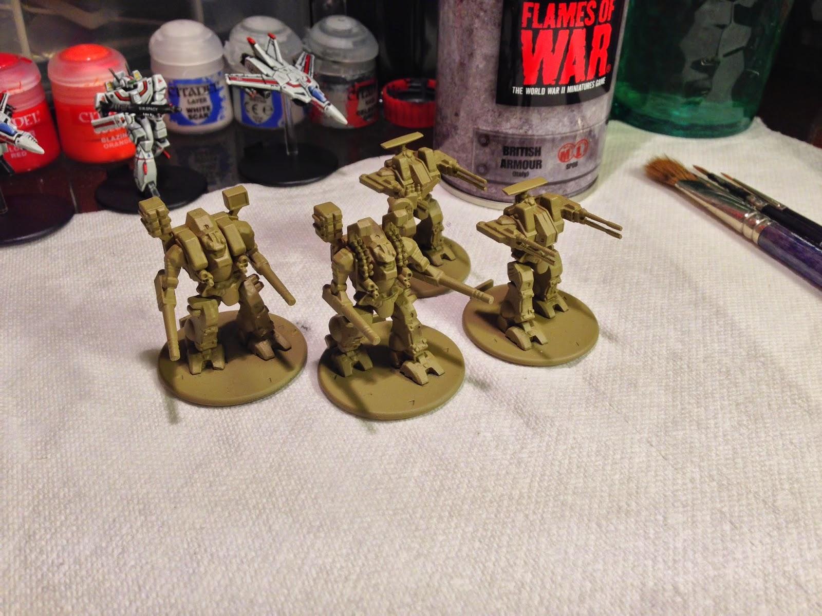 RPG and Tactics: Area Denial Destroid Squadron : Quick Paint Tutorial