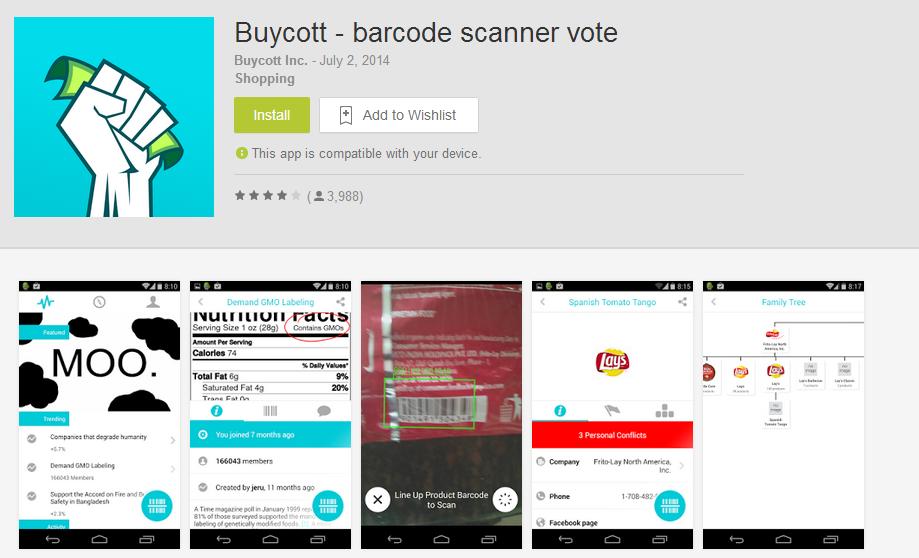 Aplikasi Buycott bantu kenali produk Israel