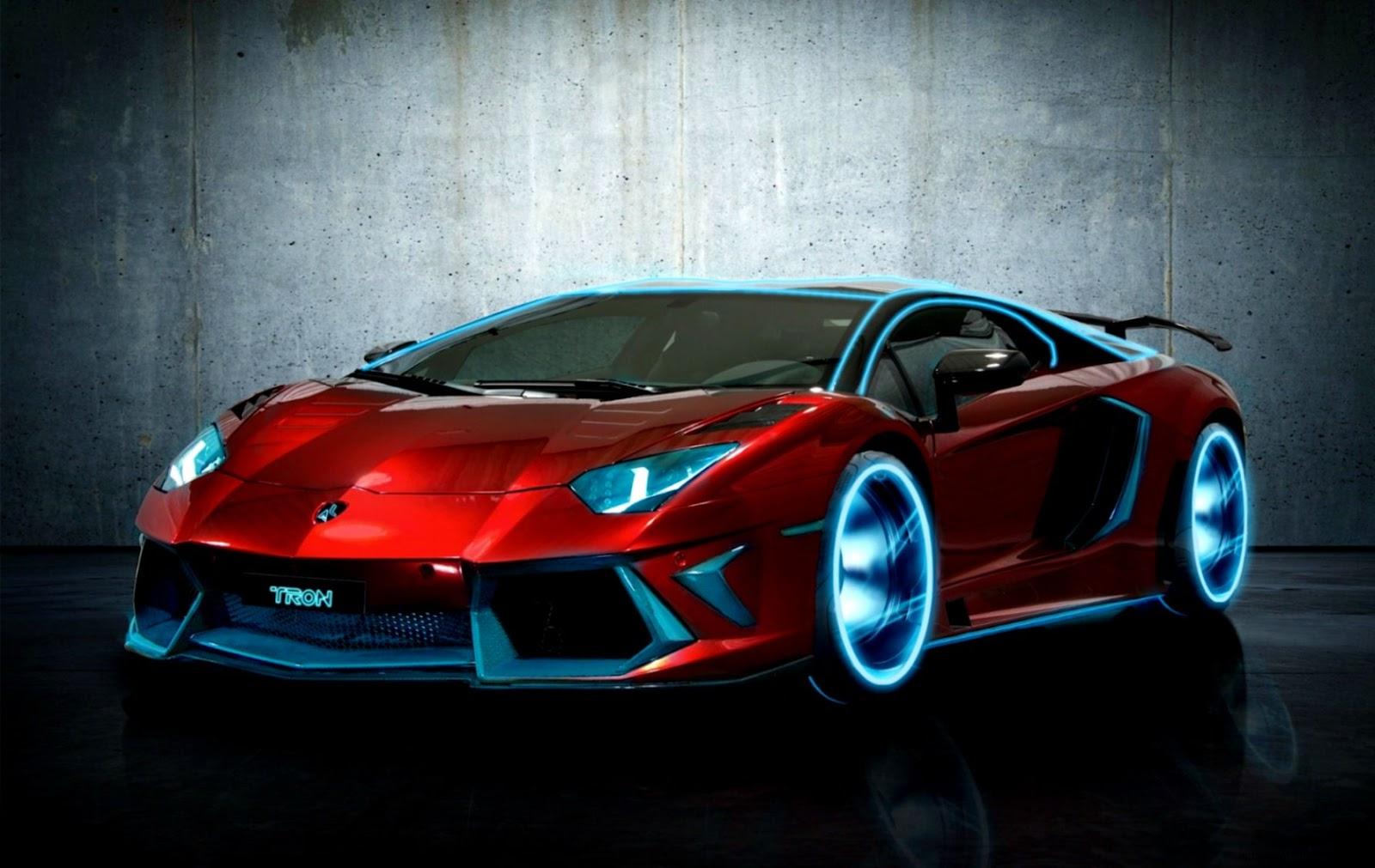 Cool Cars Lamborghini Neon