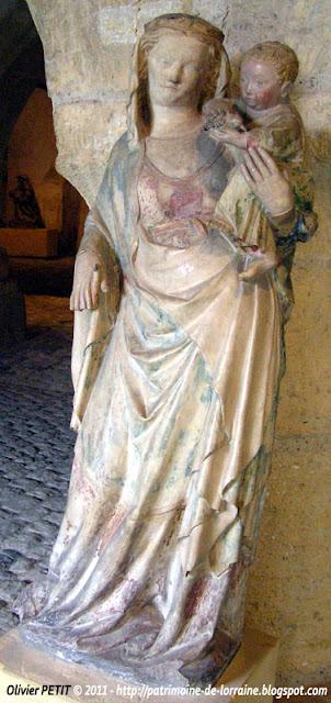 Vierge à l'Enfant. Milieu XIVe siècle.