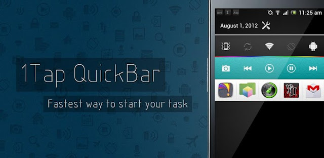 1Tap Quick Bar -Quick Settings (Ultimate) v1.3 APK