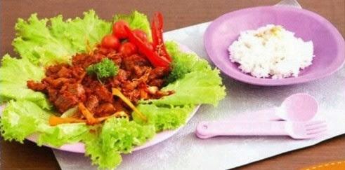 Daging Sapi Penyet - Edisi Resep Masakan Tulipware, Silver Wok 32