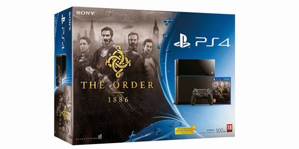 the order + playstation 4 500gb pack
