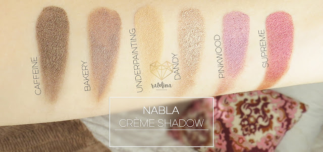 NABLA CRÈME SHADOW SWATCHES