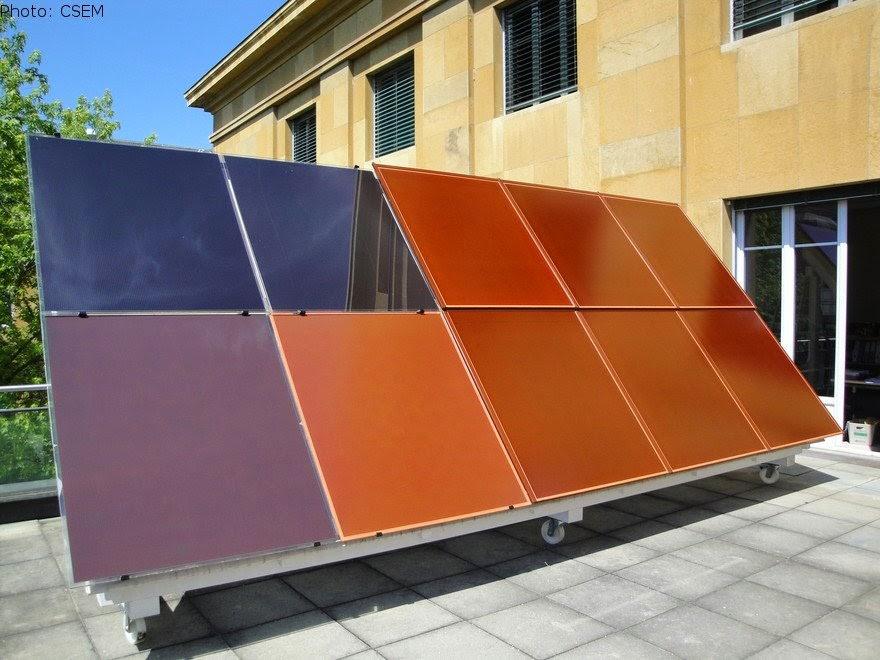 les archives de la terre cuite suisse les premiers panneaux solaires imitant les tuiles ont. Black Bedroom Furniture Sets. Home Design Ideas