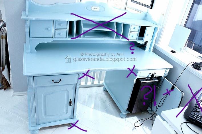 Glassveranda: Vi bygger om skrivebordet fra upraktisk til praktisk!