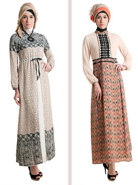 Foto Baju Gamis Muslim Masa Kini