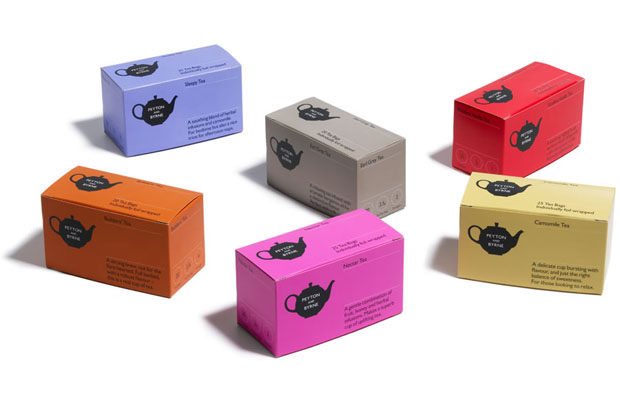 Peyton and Byrne, Farrow, caja, box, bakery, Londres, London, diseño, design, brand, te, tea
