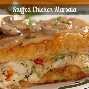 Recipes stuffed chicken marsala for Olive garden stuffed chicken marsala recipe