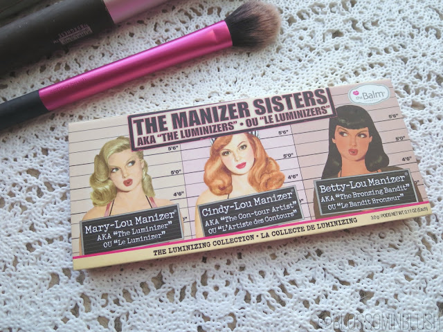a picture of theBalm The Manizer Sisters palette