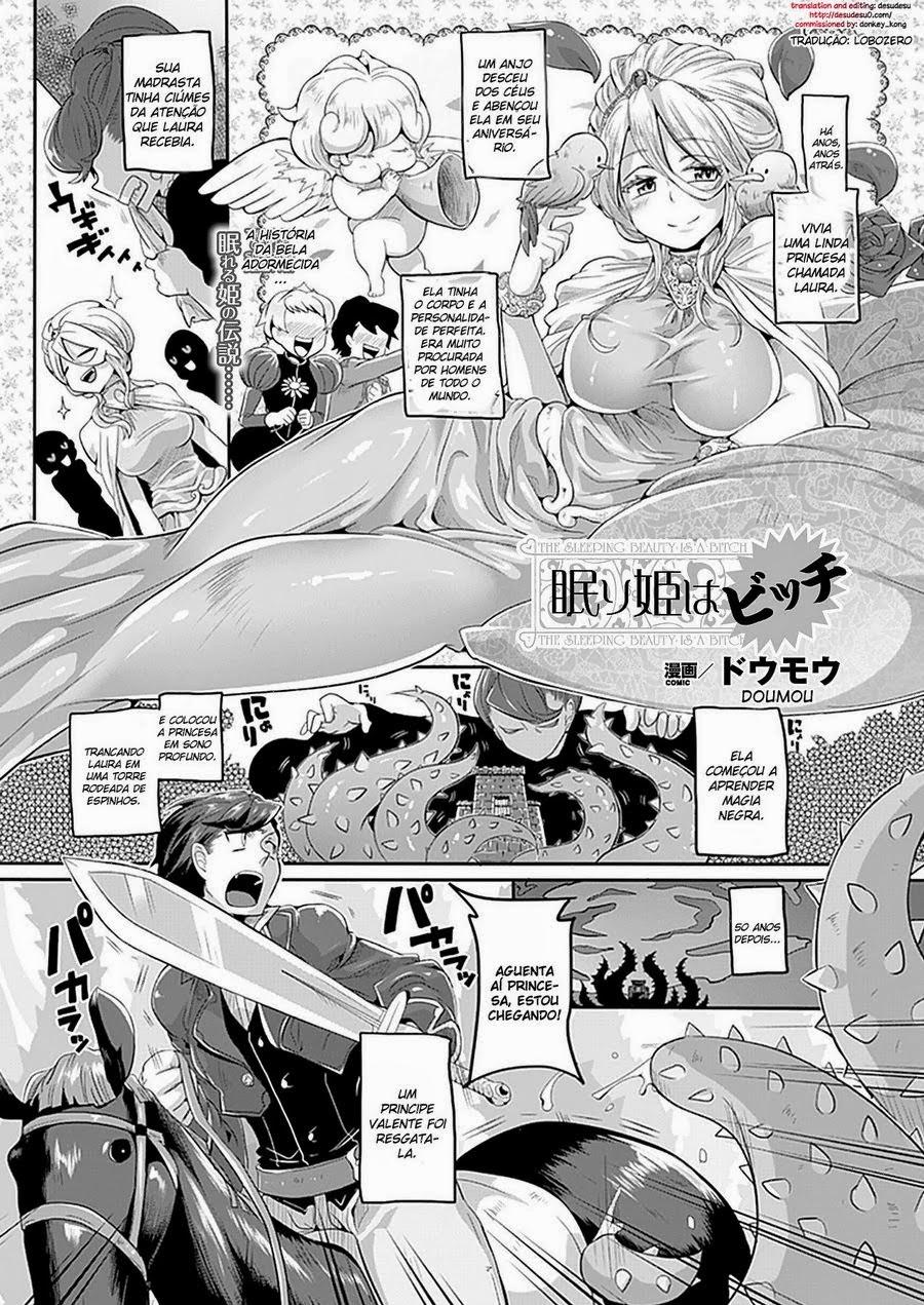 Hentai - A Bela Adormecida é uma Puta!
