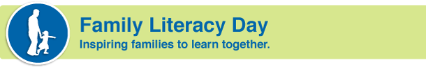 National Family Literacy Day What is Family Literacy Day