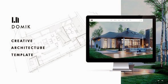 download Domik - Creative Responsive Architecture WP Theme