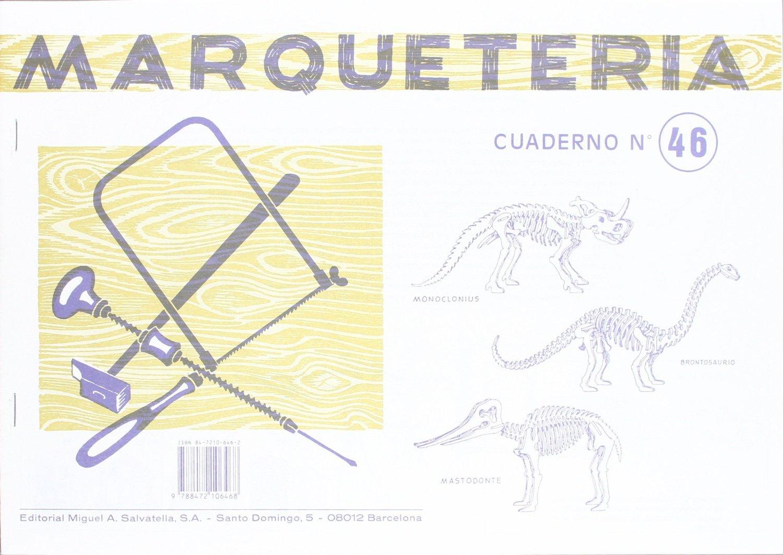 Taller tecnol gico dinosaurios de madera monoclonius - Cuadernos de marqueteria ...