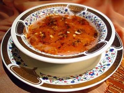 Tavuk Etli, Kavrulmuş Ceviz Çorbası