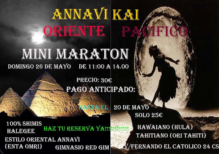mini maraton kai danzas polinesias