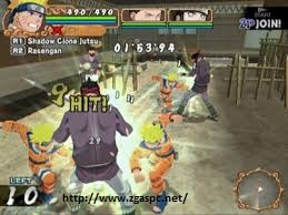 Free Download Games naruto uzumaki chronicles PS2 For PC Full Version ZGASPC