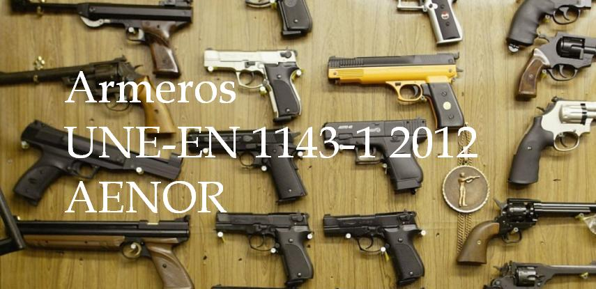 Armeros arma corta 2012 AENOR