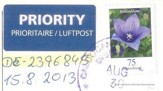 2011 Ballonblume (75 Euro Cents)