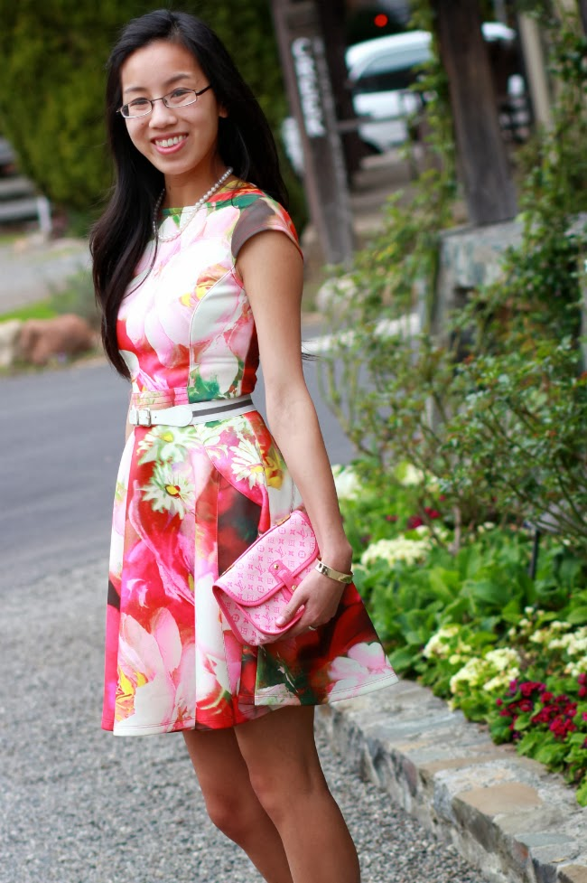 floral print dress trend outfit spring