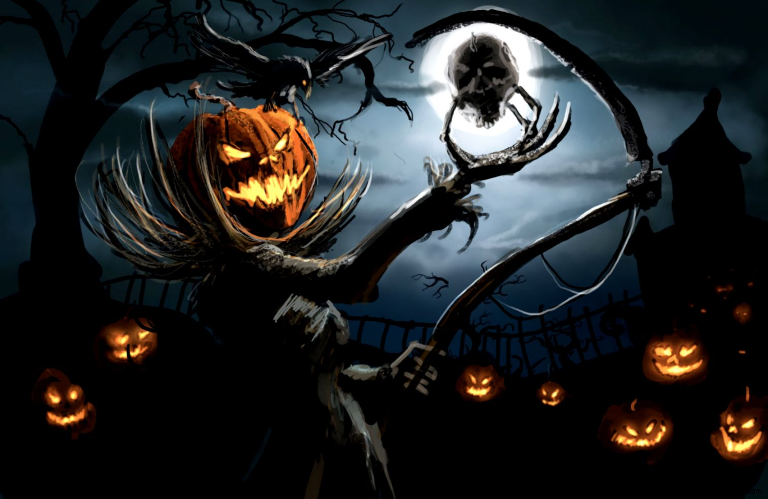 Scary Halloween Man Wallpaper   All HD Wallpapers