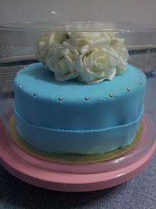 moist cake fondant