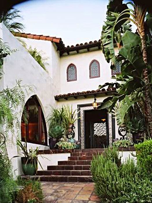 Timeless design the elements of california style for Spanish colonial exterior paint colors