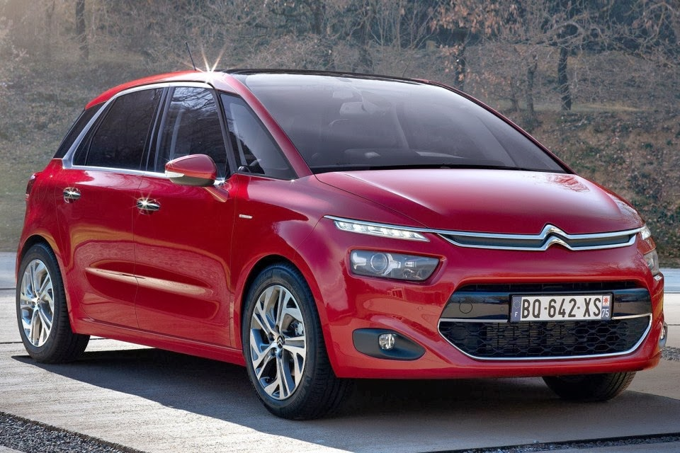 citroen c4 picasso ii 21 2017 photos. Black Bedroom Furniture Sets. Home Design Ideas