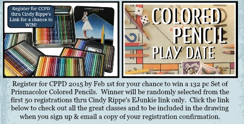 Colored Pencil Play Date 2015 - Cindy Rippe