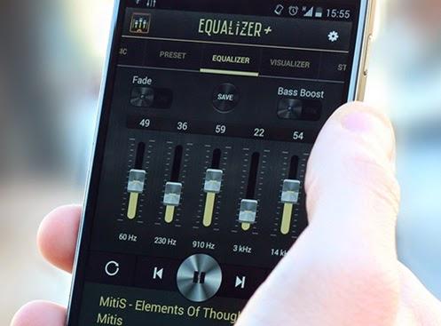 Tips android meningkatkan kualitas suara sound smartphone dengan fitur equalizer dan superbass