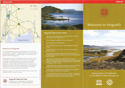 Thingvellir Brochure
