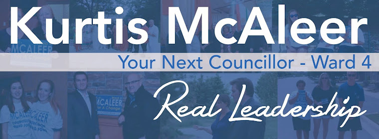 Kurtis McAleer for Ward 4 Councillor